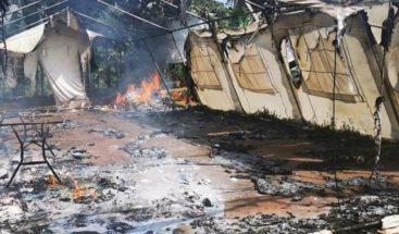 Doce migrantes haitianos son procesados en Panamá por vandalizar un albergue