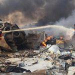 Al menos diez muertos tras la gran explosión en el puerto de Beirut