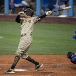 Manny Machado conecta HR con bases llenas para darle la victoria a Los Padres sobre los Dodgers
