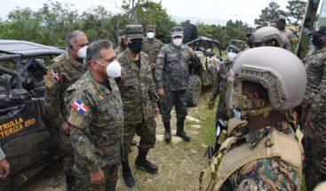 Paulino Sem realiza recorrido fronterizo con ministro de Defensa designado y otras autoridades
