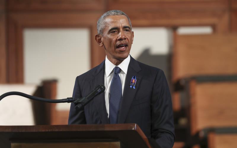Obama dice que a Trump le preocupa más suprimir el voto que el virus