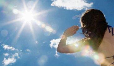 Temperaturas calurosas para este fin de semana, según  ONAMET