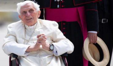 La salud de Benedicto XVI no es