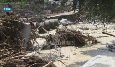 Paso de Isaias incomunicó carretera Guayabal-Padre las casas