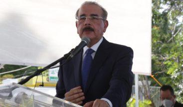 """Cumplí todo lo que prometí"", Danilo Medina"