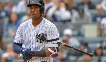 Miguel Andújar es sacado de roster y enviado a campamento alterno de los Yankees