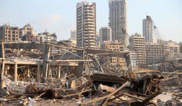 Comunidad libanés en RD consternada por explosión en Beirut