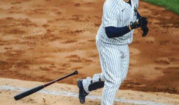 Gary Sánchez conecta su tercer HR en triunfo de Cole y los Yankees