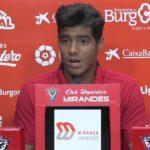 El dominicano Carlos Julio jugará una temporada más en el Mirandés