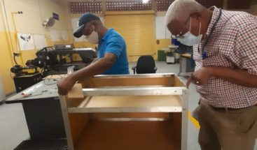 INFOTEP pondrá en marcha cabinas con equipo esterilizador para desinfectar herramientas