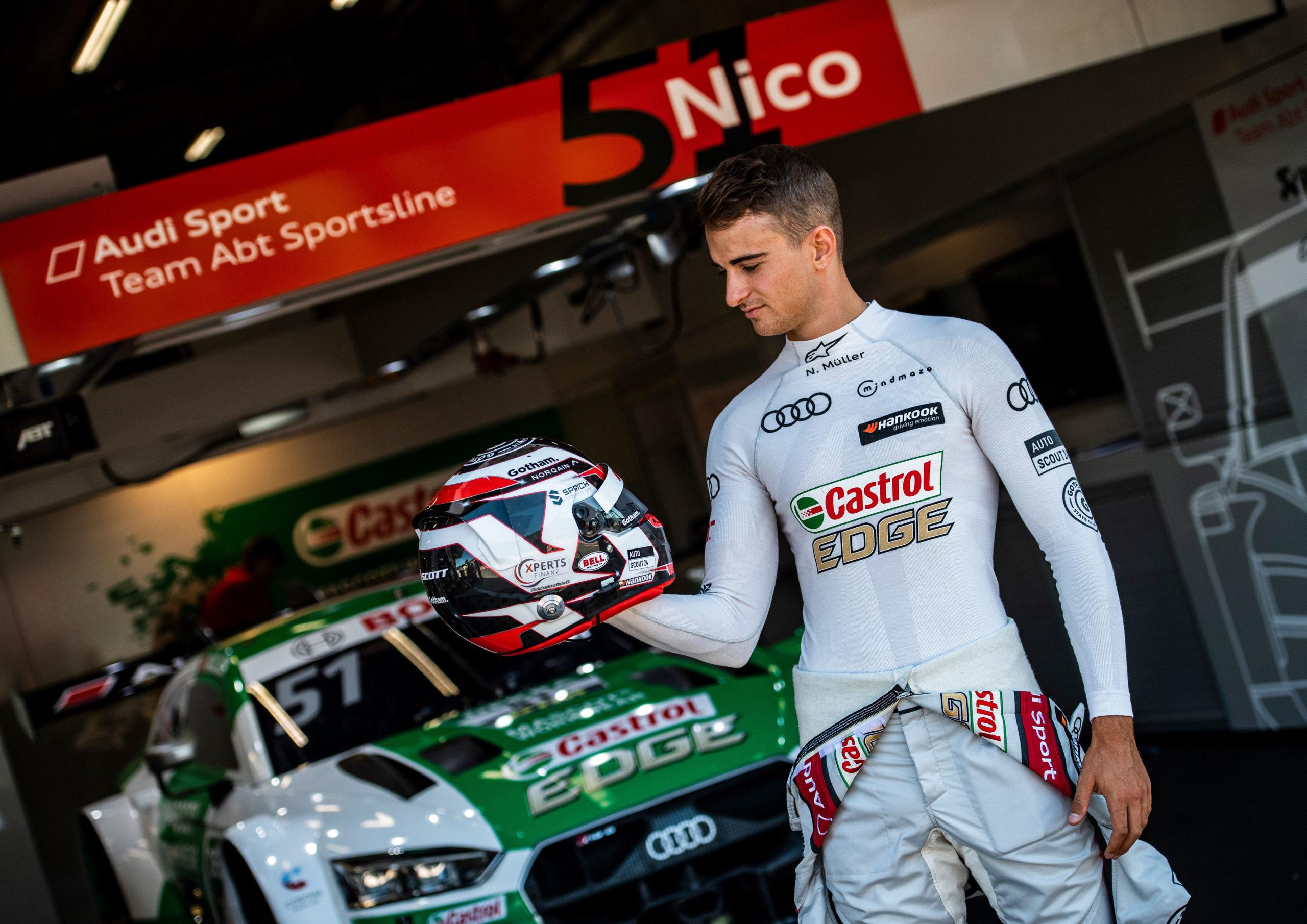 Nico Müller encabeza el repóquer de Audi en Spa-Francorchamps