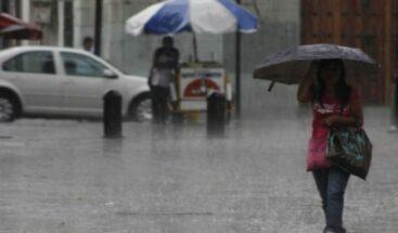 Vaguada provocará aguaceros la tarde de hoy