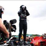 Lewis Hamilton gana el GP de Inglaterra y termina la carrera con tres neumáticos
