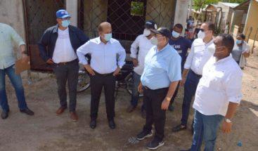 Comisión enviada por Abinader a Hato Mayor hace inventario de daños por paso de Isaias