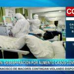 Pánico por aumento de casos COVID-19