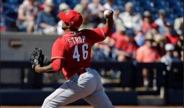 Dominicano Pedro Strop a la lista de lesionados de los Rojos de Cincinnati