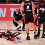 109-92. Heat pierden el partido y al alero Derrick Jones Jr. por lesión