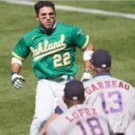 Dominicano Ramón Laureano protagonista bronca ante los Astros