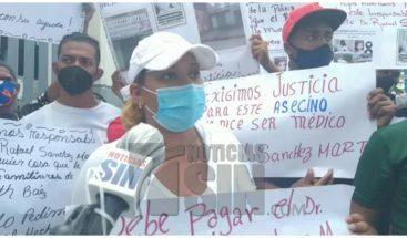 Claman justicia para joven muerta por supuesta práctica de aborto