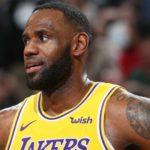 James será baja ante Rockets y se une a la enfermería que tienen los Lakers