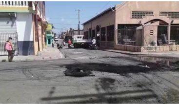 Protestan por falta de energía eléctrica en Sabana de la Mar