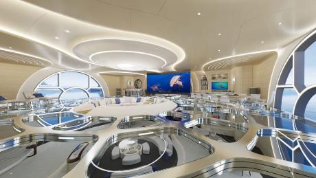 Thor Explore, un yate futurista con acuario interior y helipuerto