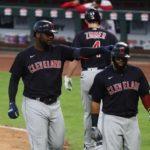 Franmil Reyes y Domingo Santana se destacan en triunfo de los Indios de Cleveland