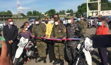 PN entrega vehículos e incrementa el personal para fortalecer patrulla en Valverde