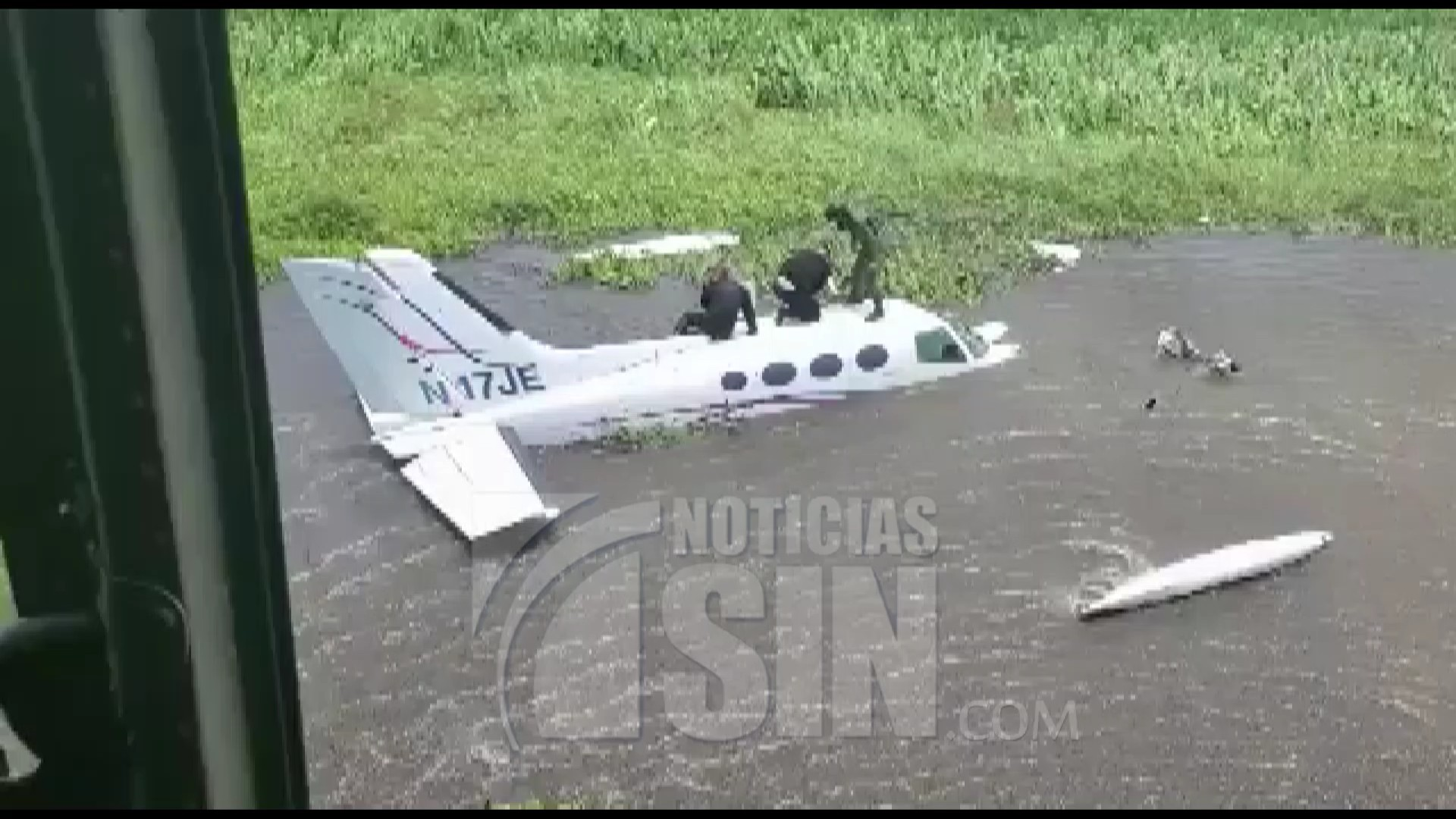 Aparece en Venezuela avioneta desaparecida; apresan dos dominicanos y un venezolano