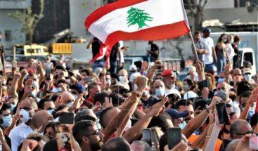 Beirut recuerda a sus muertos una semana después de la explosión