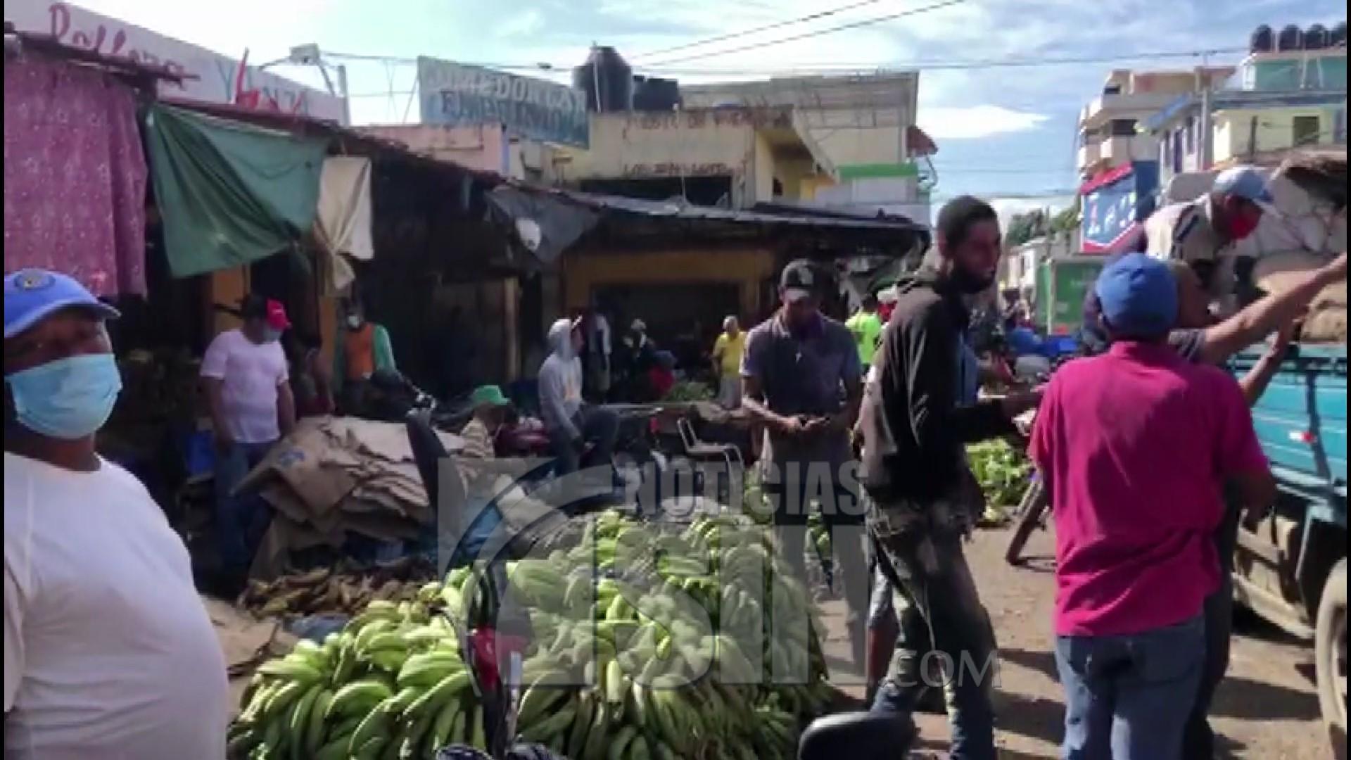 Comerciantes en SFM se quejan por efectos de la pandemia