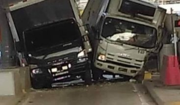 DIGESETT somete ante el MP a conductores que colisionaron en el peaje de la Autopista Duarte