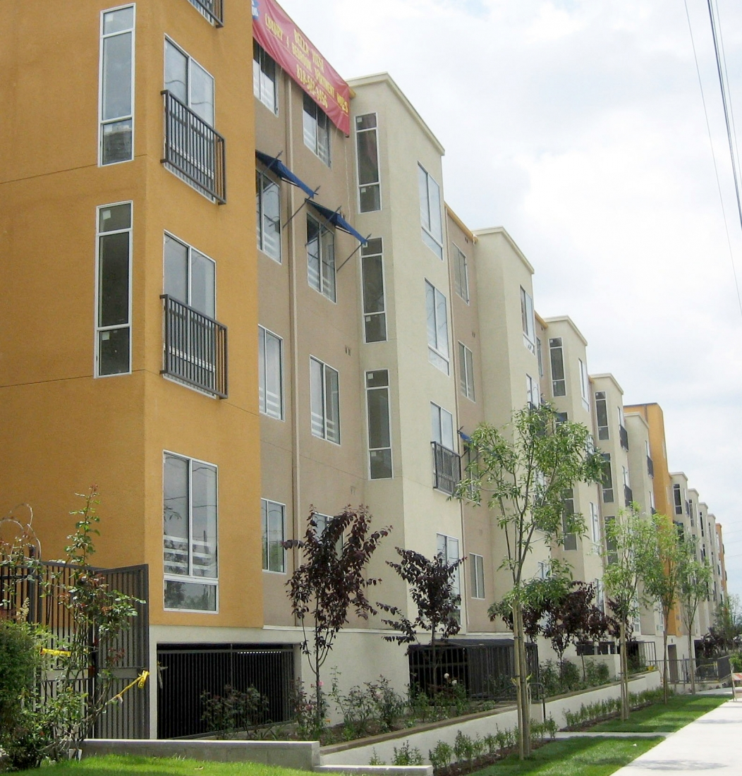 Different Exterior Colors Were Used On The Façade Which Was Constructed With Variable Planes All Units Have Their Own Washers And Dryers In