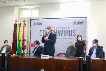 Luciano Cartaxo apresenta plano de flexibilização e reabertura do comércio - SINDESEP