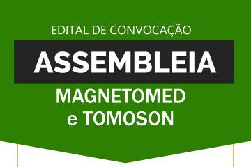 Edital de Convocação para Assembléia Virtual com empregados das empresas MagnetoMed e Tomoson - SINDESEP