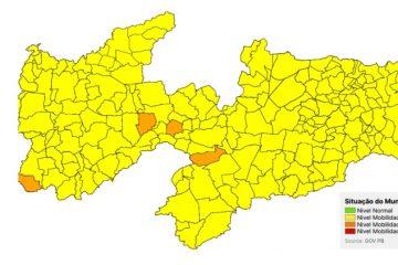 Apenas quatro municípios se mantêm na bandeira laranja e Estado deve ampliar flexibilizações - SINDESEP