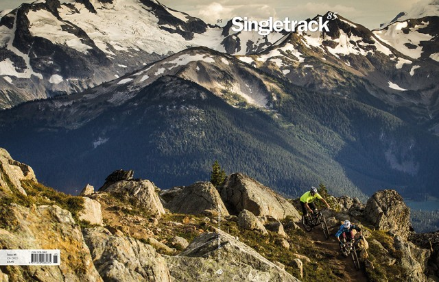 Cover shot by Mark Mackay in Whistler, Canada.