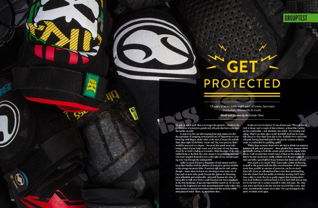 Issue 90_Grouptest knee pads