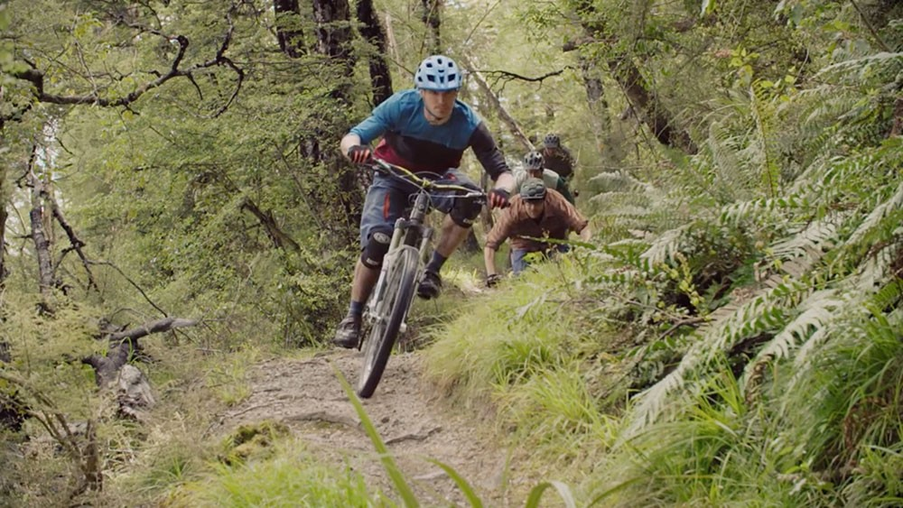 ground effect, trail building, wharfedale track, new zealand