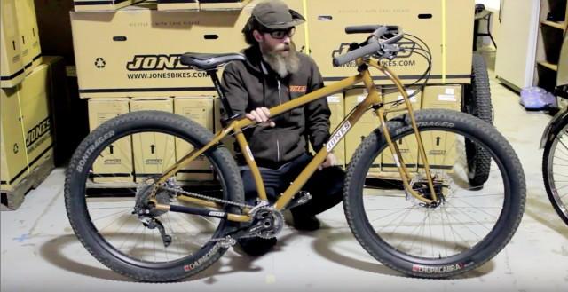 Jeff Jones on Plus Bikes