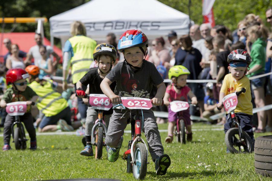 balance bikes, tweedlove family day