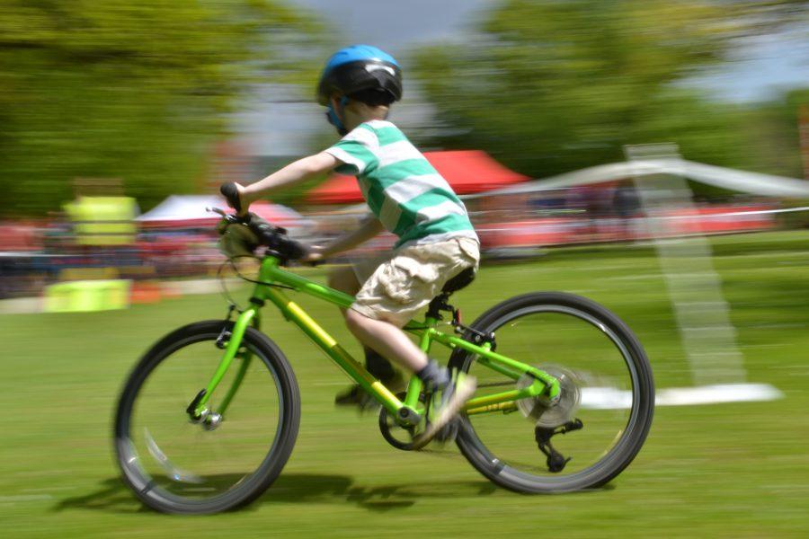 Tweedlove Family Day, child, bike