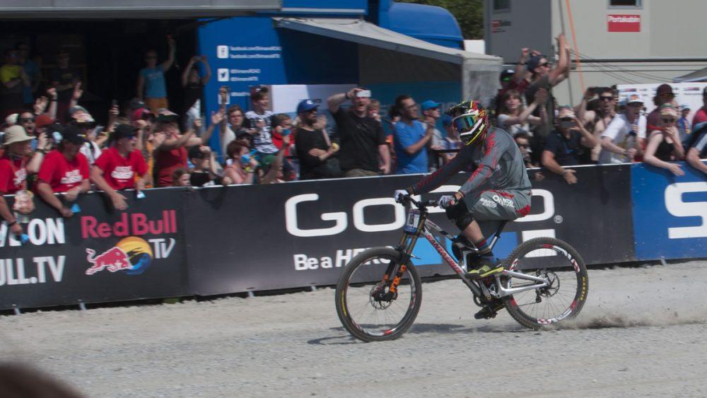 Greg Minaar Finish