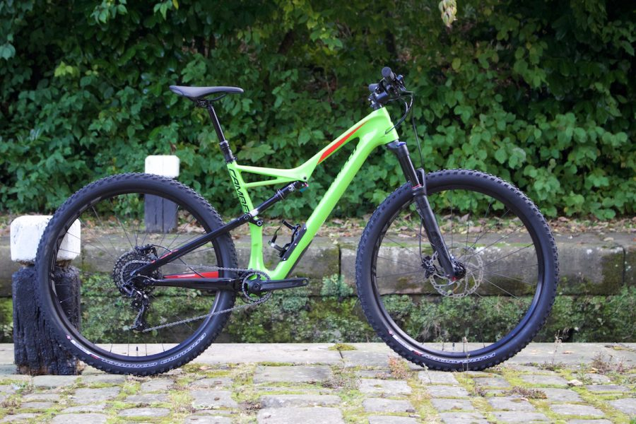 specialized camber 29 29er full suspension carbon comp rockshox fox sram race face
