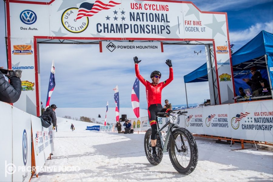 Want to meet Ned Overend world champion snow race competition