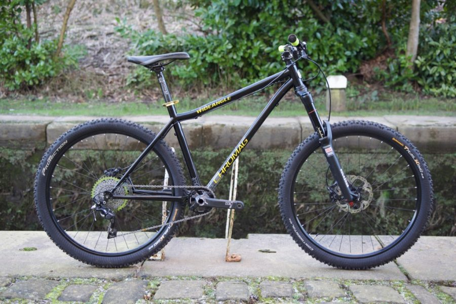 chromag wide angle steel hardtail 27.5