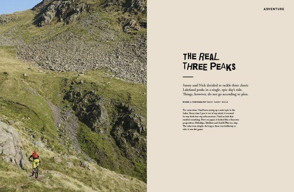 issue 112, 3 peaks, the real peaks, sanny, nick craig