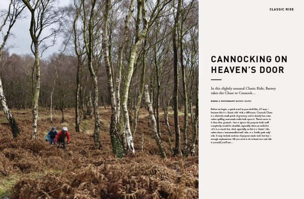 issue 112, opener, Cannocking on heaven's door, cannock chase