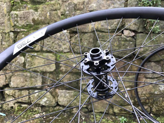 ibis cycles 738 wheels 27.5in wide tubeless