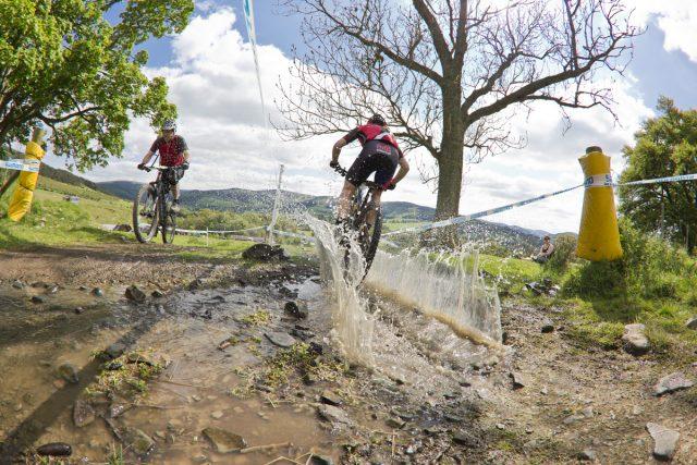 Glentress 7 water crossing. Credit: Ian Linton